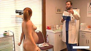 Pregnant Alyssa Hart - Doctor Visit
