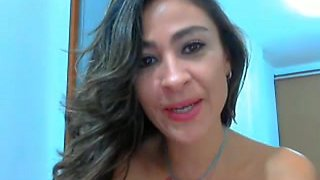 ribald colombian floozy on cam #1