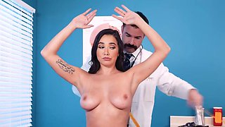 The Doctor In The Office, Stick To The Brunette And She Lets Him To Fu - Karlee Grey And Charles Dera