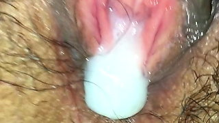 my wife gets creampie