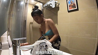 Asian Maid With Puffy Nipples Impregnated