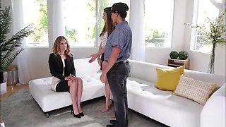 Sluts Aspen And Nina In A Threesome Fuck With Milf Mona