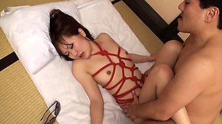 Asian chick is getting a soft banging from her horny lover