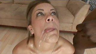 Sperm in mouth