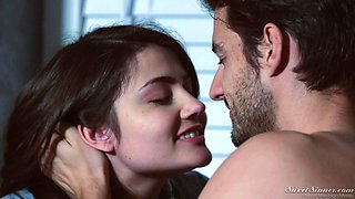 Hot kitchen oral sex and pussy wasting with Adria Rae and Jay Smooth
