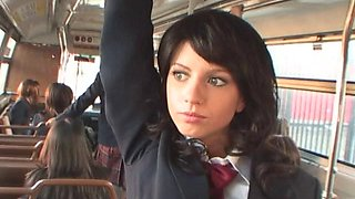 School Girl Bus Grope and Sex