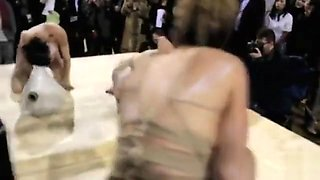 Nude Czech models stage a wild performance art piece