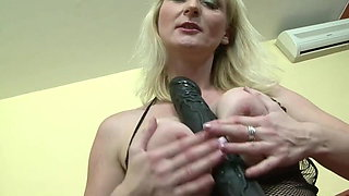 Mom's dark pleasure