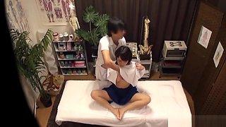 KInky Japanese milf gets fucked after massage