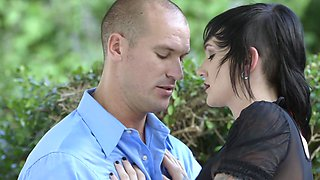 Slutty emo Nikki Hearts seduces serious man Sean Lawless