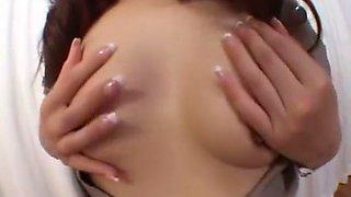 Hottest Japanese chick Naomi Hirose in Amazing Cougar, Blowjob/Fera JAV video