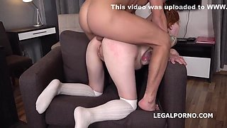 Redhead Girl Gets Abused - Teen Porn Video