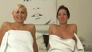 Two Pregnant Milf