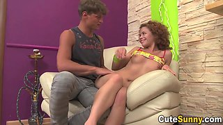 Sunny A And Cute Sunny - Redhead Eighteen Years Old Takes A Messy Facial Male Milk Shot After Cock Riding - Xozilla Xozilla Porn Movies Movies