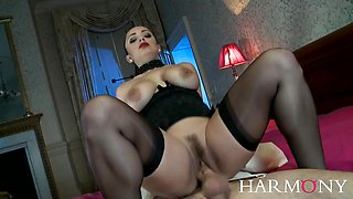 Liza Del Sierra Takes A Huge Cock Up Her Ass