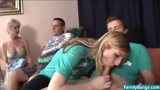 delicious family taboo night party - join familybangs.com