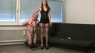 Best amateur Femdom, Slave xxx video
