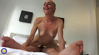 Taboo home sex with hungry mothers