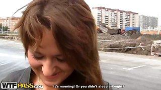 Anal fuck with cute Russian teen girl