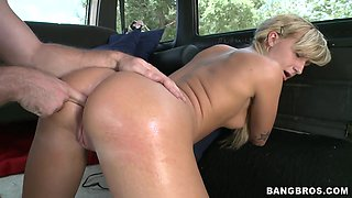 BangBus gets another sexy one - BangBus