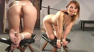 Anal punishment bound