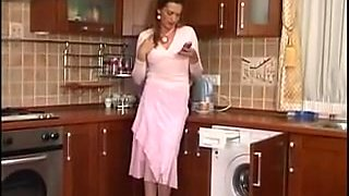 Plumber cleared pantyhose housewife