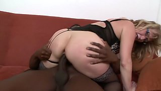Aja A Thick Sexy Grandma Takes A Long Black Dick