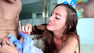 Kitchen sex first time Steppatron's sisters Dirty Surprise S