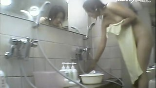 Asian cunts, butts and boobs of girls in the sauna dvd 03176
