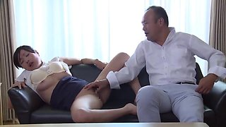 Nsps-317 Cuckold For The First Time A Wife Who Falls