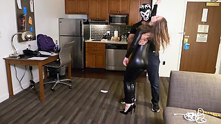 Lingerie Latex and Spanking