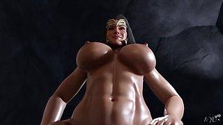 Wonder woman and power girl(nyl)