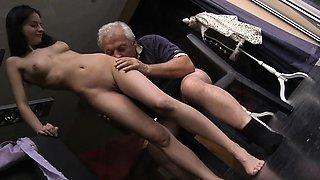 75 flaccid grandpa shaggs young sewer girl