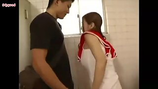 Boy meets girl in station toilet