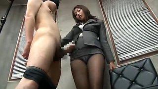 Fabulous Japanese whore Miwako Yamamoto in Hottest Foot Fetish JAV video