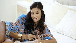 BLACKED First Interracial Rich Arab Girl Jade Jantzen