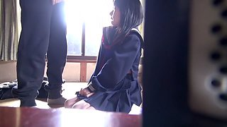 Exotic Japanese girl Amateur in Fabulous college, 18 years old JAV clip