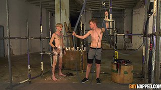 Two hot guys having some BDSM action like you've never witnessed before